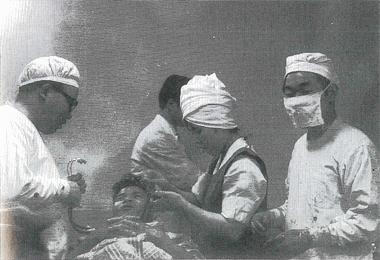 昭和37年頃進藤病院 手術